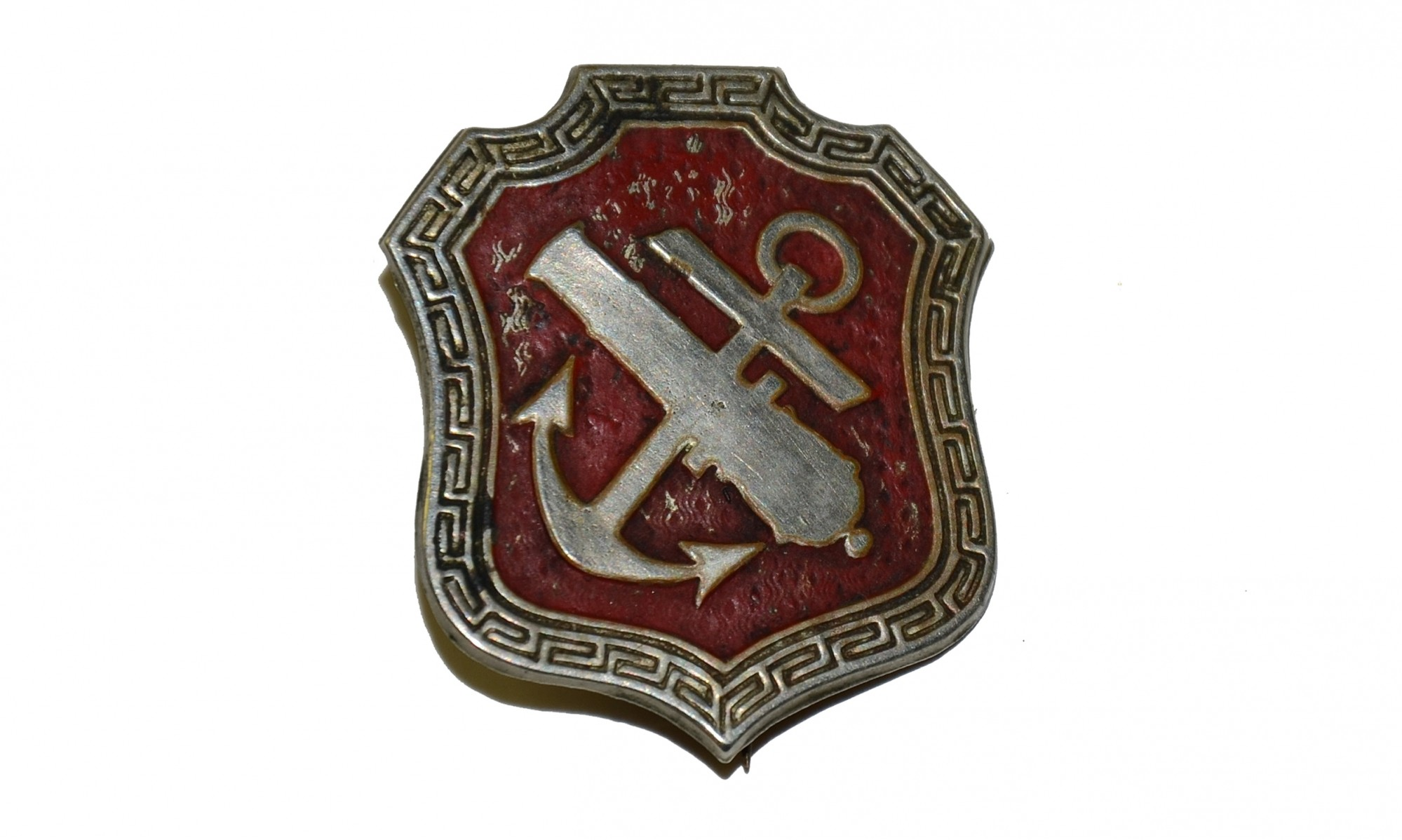 ORIGINAL CORPS BADGE OF THE FEDERAL NINTH ARMY CORPS' 1ST DIVISION