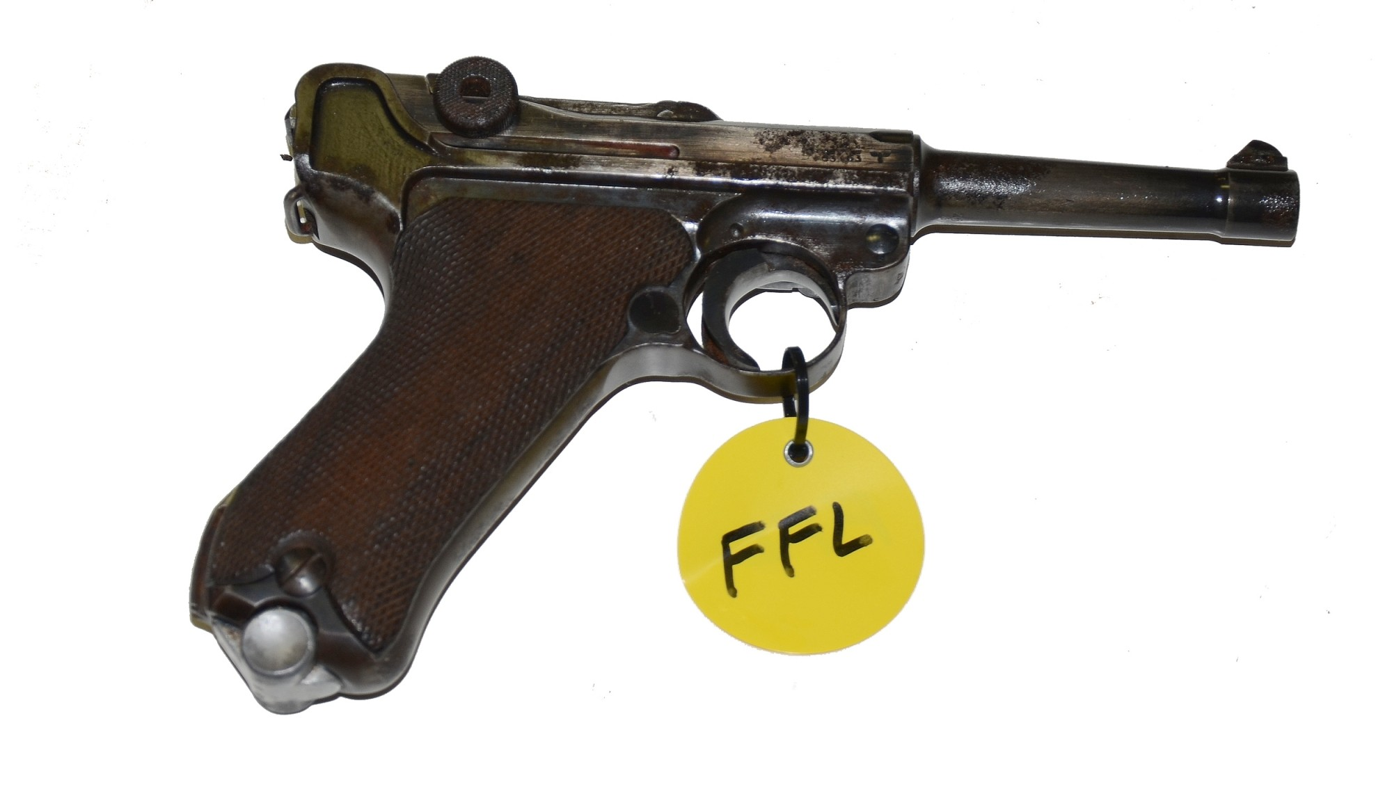 GERMAN DATED S/42 LUGER SERVICE PISTOL