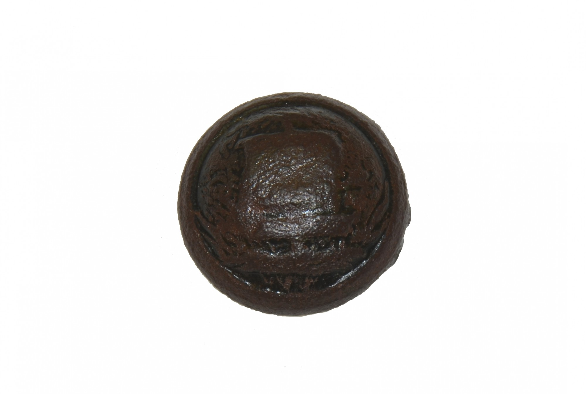 VERY RARE EXCAVATED CIVIL WAR ALABAMA STATE SEAL BUTTON
