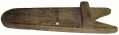 IDENTIFIED WOODEN BOOT JACK FOUND AT GETTYSBURG -  GEISELMAN COLLECTION