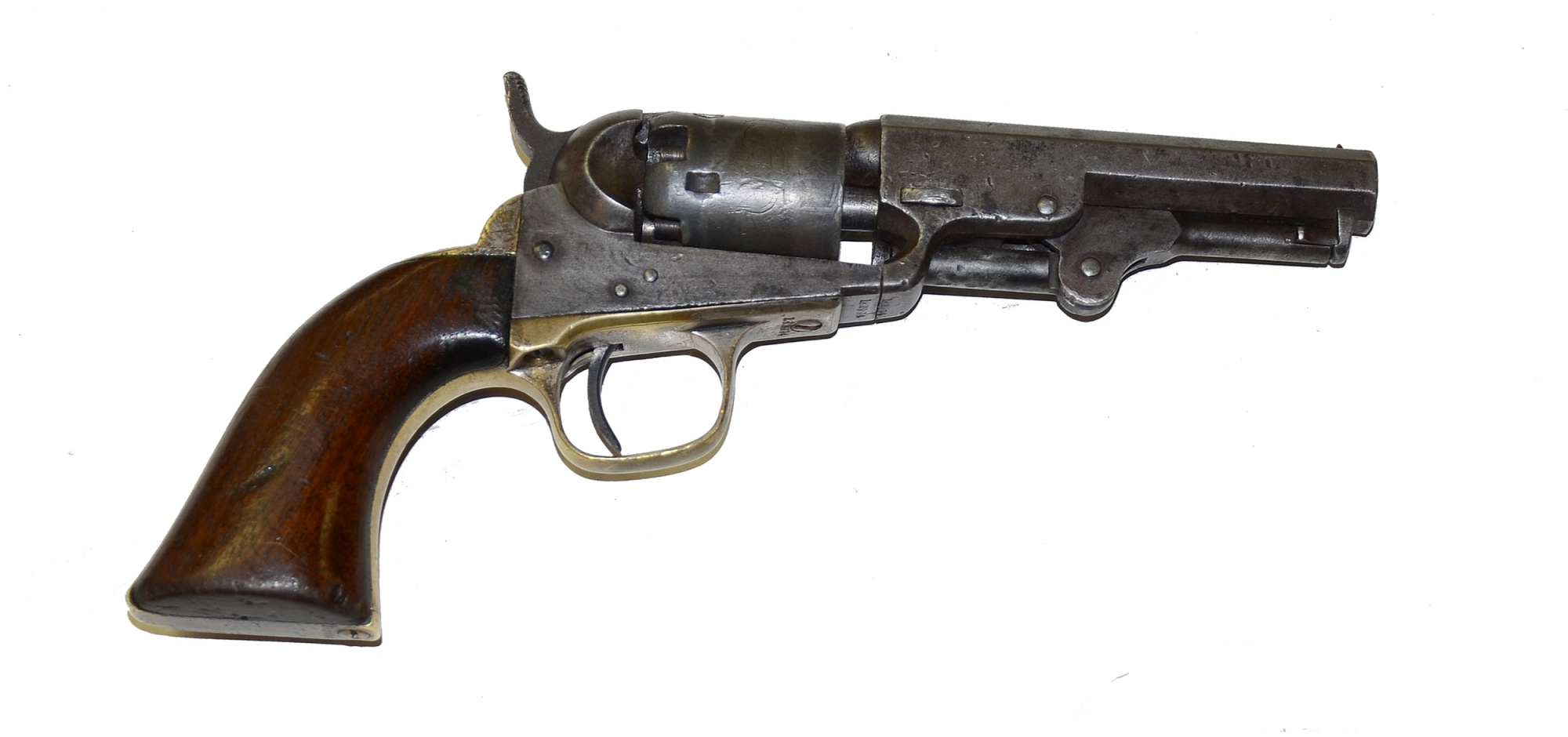 POCKET MODEL 1849 COLT WITH MATCHING SERIAL NUMBERS