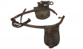 HORSE HARNESS SECTION RECOVERED AT GETTYSBURG - FROM THE COLLECTION OF GAR POST #551 IN YORK SPRINGS, PA