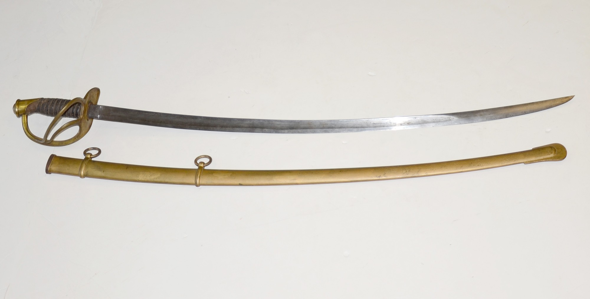 US MODEL 1860 CAVALRY SABER WITH UPSIDE DOWN DATE