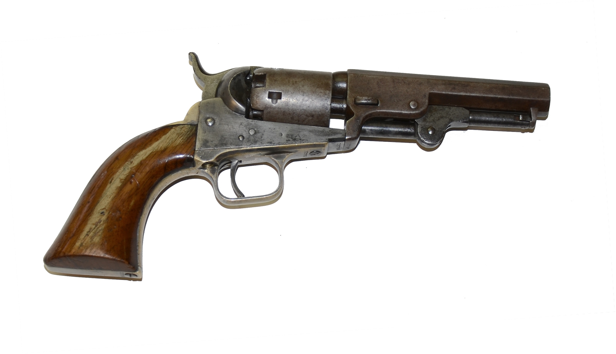 POCKET MODEL 1849 COLT REVOLVER WITH MATCHING SERIAL NUMBERS