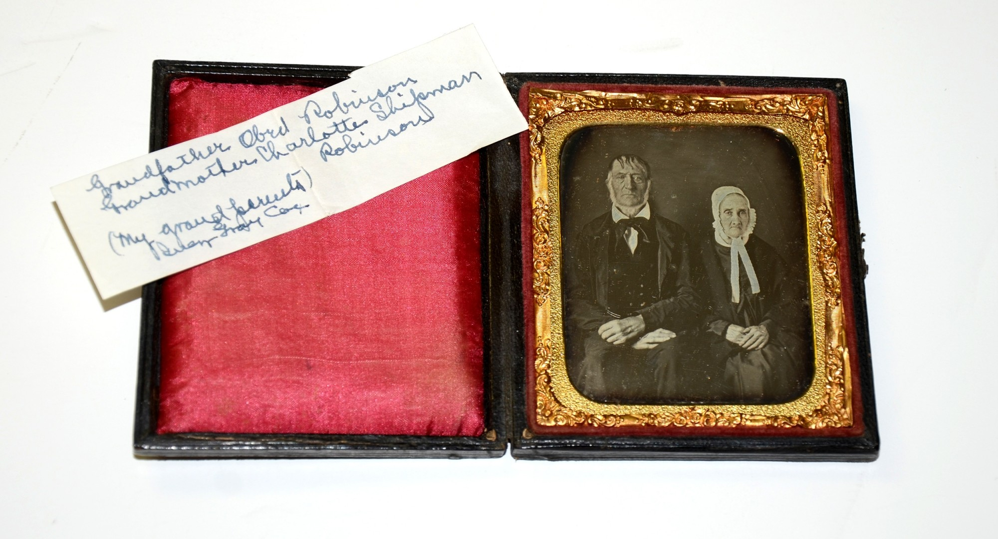 GROUP OF DAGUERREOTYPES FROM NEW YORK FAMILY