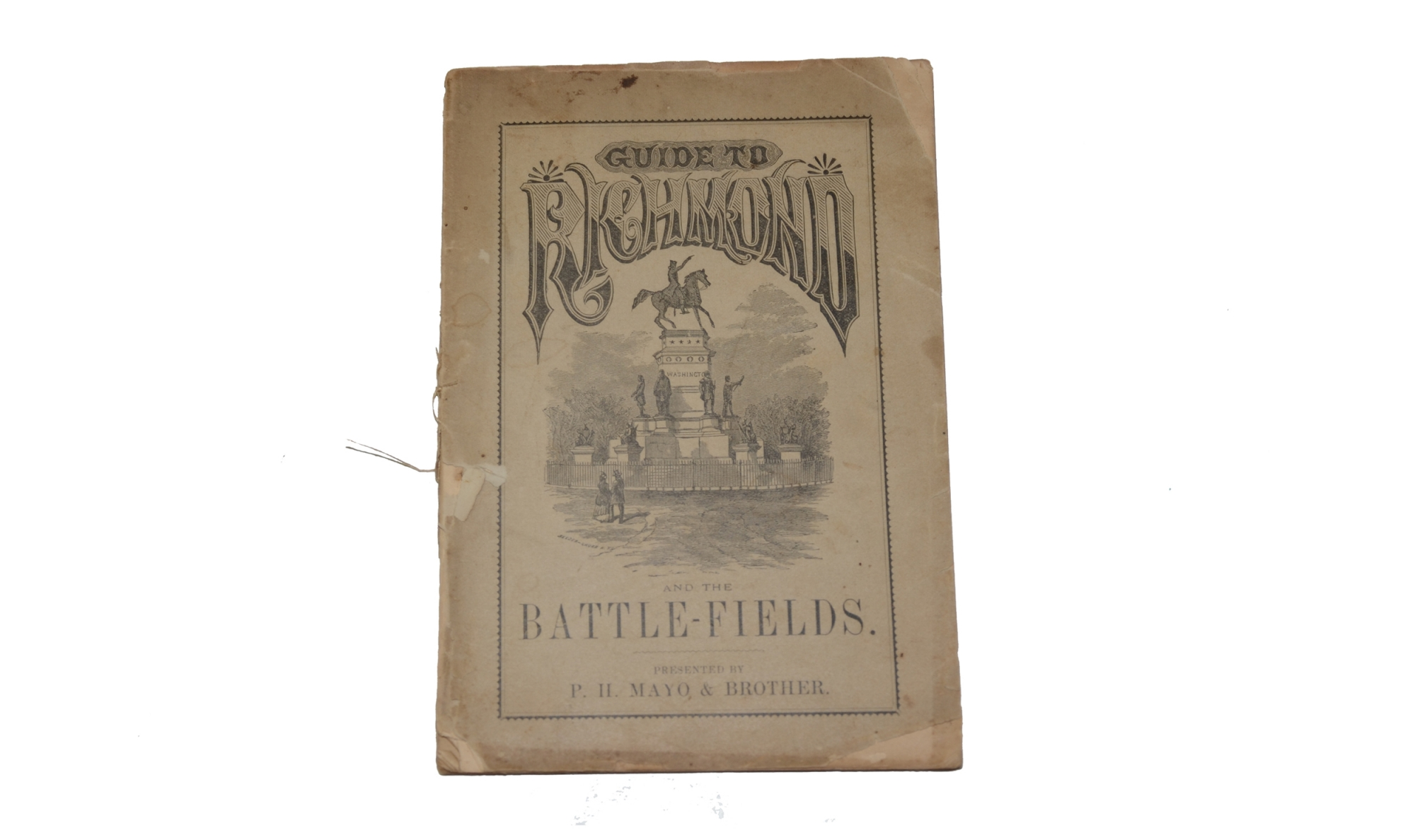 1881 GUIDE TO RICHMOND AND THE BATTLEFIELDS