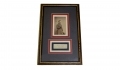 FRAMED AUTOGRAPH & CDV OF MAJOR GENERAL ANDREW A. HUMPHREYS