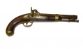 "M1842 'H. ASTON"" PERCUSSION SINGLE-SHOT PISTOL DATED 1849"