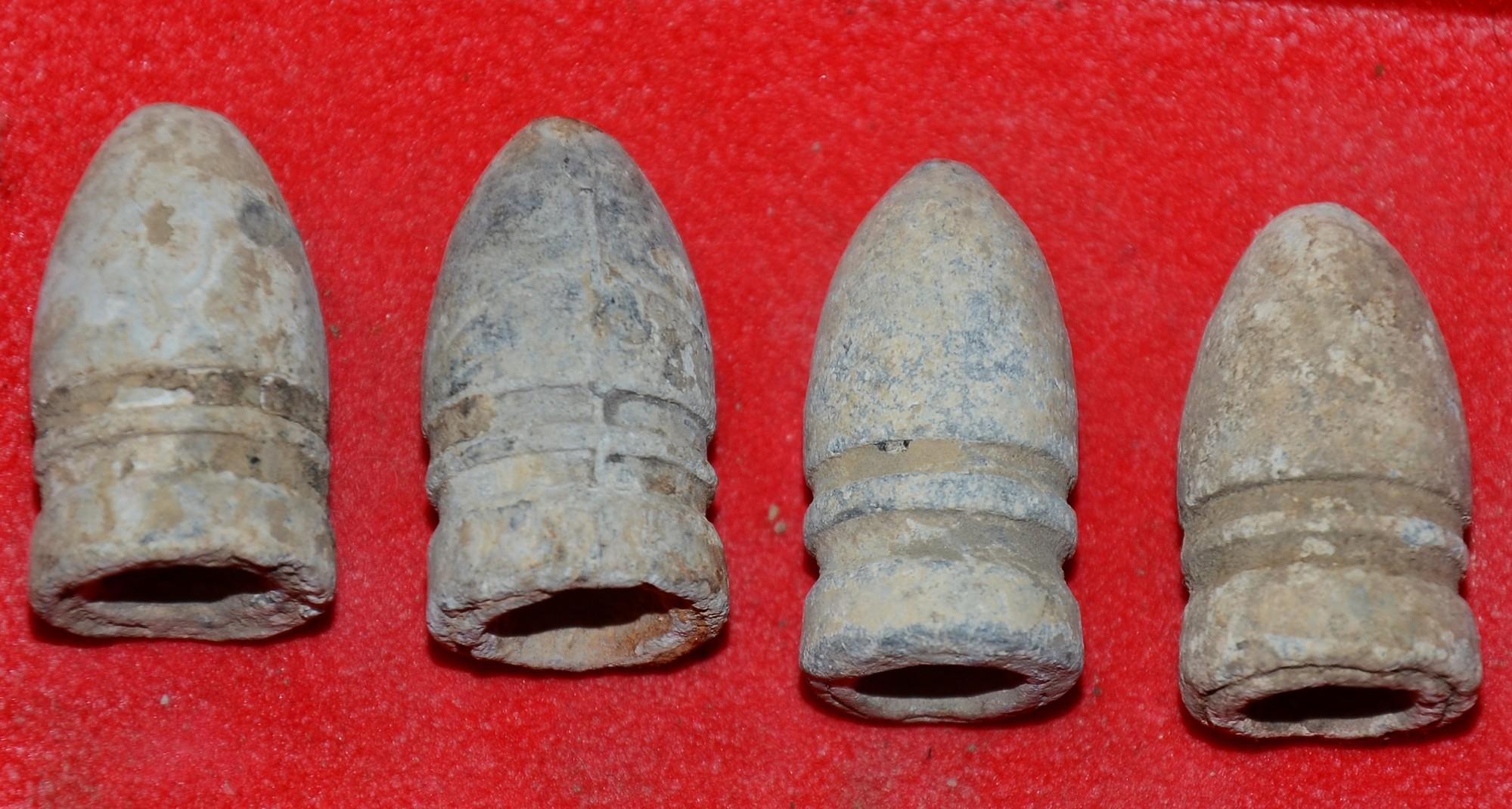 Dropped 58 Confederate Gardner Bullet Gettysburg