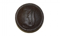 EXCAVATED CONFEDERATE INFANTRY SCRIPT 'I' BUTTON, CS177