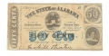 STATE OF ALABAMA $.50 NOTE