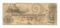 THE COCHITUATE BANK, BOSTON $2 NOTE