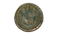 NEW YORK COAT BUTTON FROM 2ND CORPS HOSPITAL AT GETTYSBURG