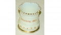 GETTYSBURG SOUVENIR CUSTARD GLASS TOOTHPICK HOLDER