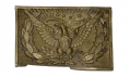 US PATTERN 1851 OFFICER'S SWORD BELT PLATE FROM THE GETTYSBURG ROSENSTEEL FAMILY COLLECTION