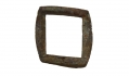 BRASS OFFICER'S HAVERSACK BUCKLE RECOVERED 2ND CORPS HOSPITAL SITE BY POND - GETTYSBURG