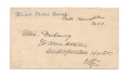 FREE FRANKED ENVELOPE ADDRESSED AND SIGNED BY CS LT. GEN. WADE HAMPTON