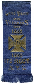 REUNION RIBBON, 173RD NEW YORK - LONG TERM VETERANS