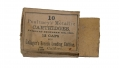 "OPENED & EMPTY BOX FOR ""10 POULTNEY'S METALLIC CARTRIDGES…FOR GALLAGER'S BREECH LOADING CARBINE"""