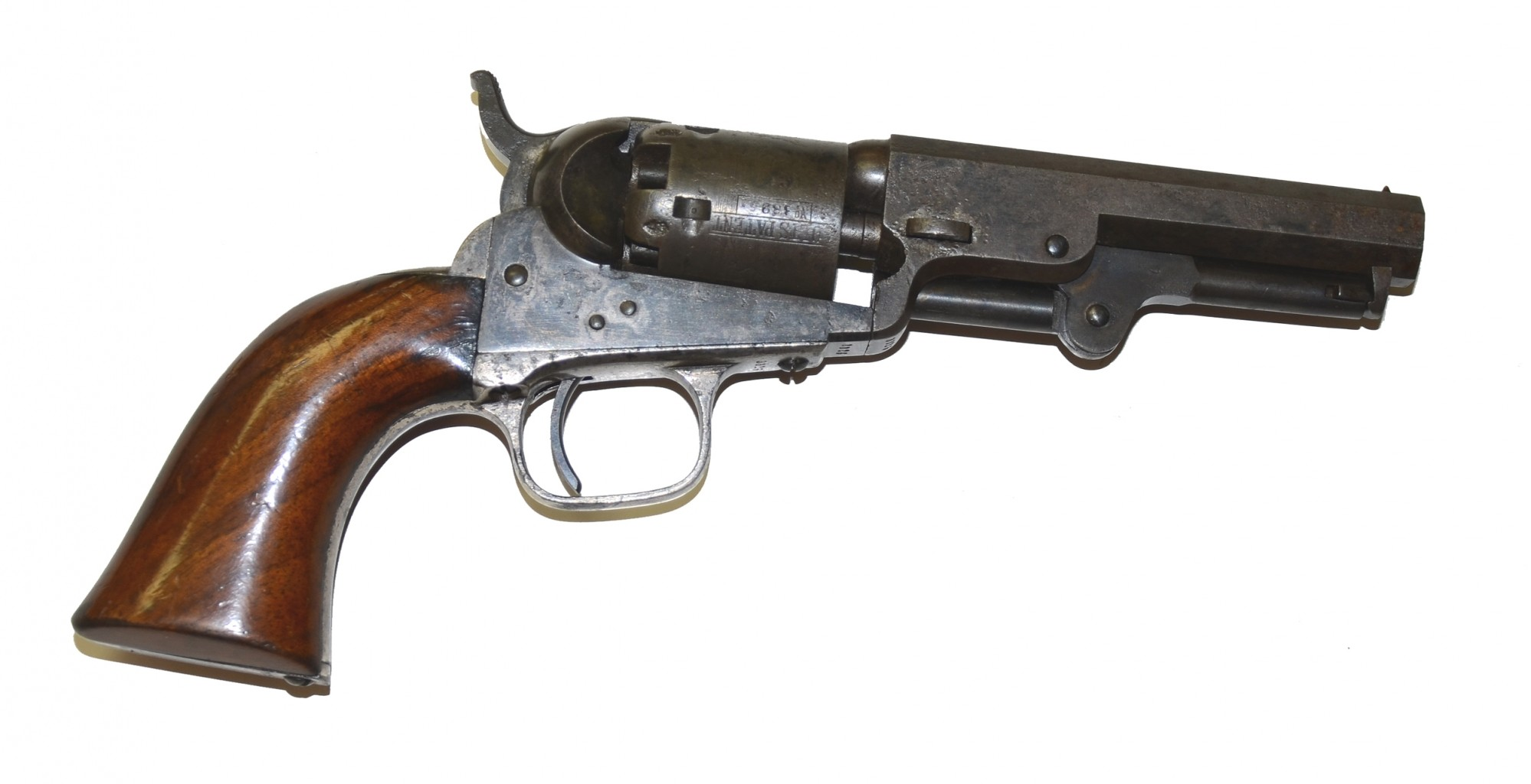 """LONDON"" MODEL 1849 POCKET COLT MADE IN LATE 1854"