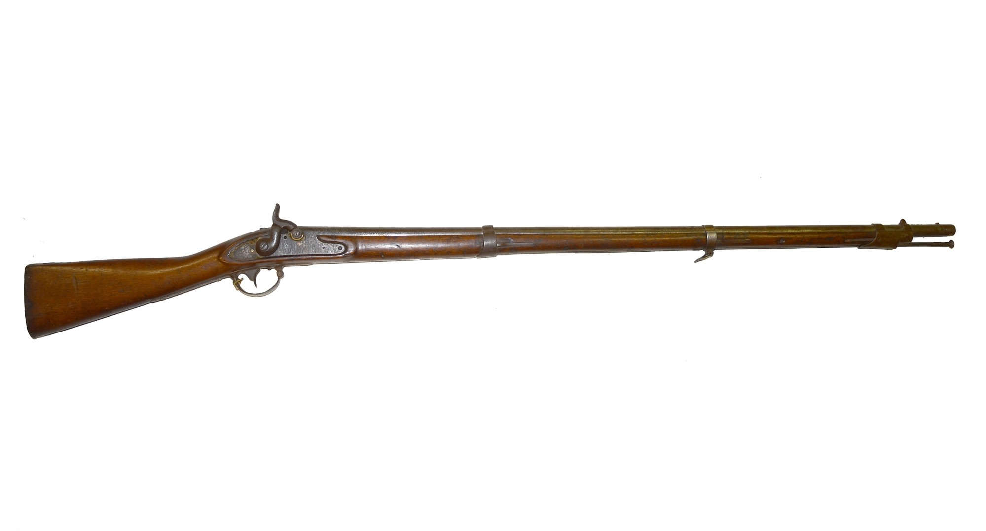 PRE-WAR, COLT-ALTERED, CONFEDERATE-IDENTIFIED MUSKET CARRIED BY PRIVATE WILLIAM EXALL, 21ST VA INFANTRY, WHO WAS KILLED IN ACTION