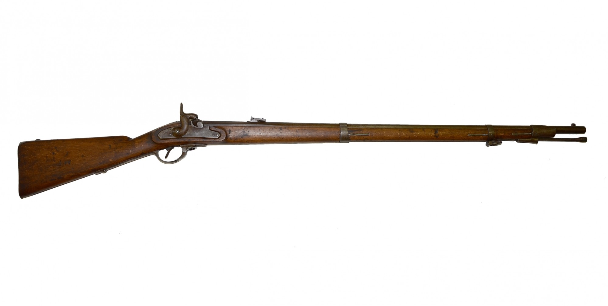 AUSTRIAN MODEL 1854 'LORENZ' PERCUSSION CONTRACT RIFLE-MUSKET