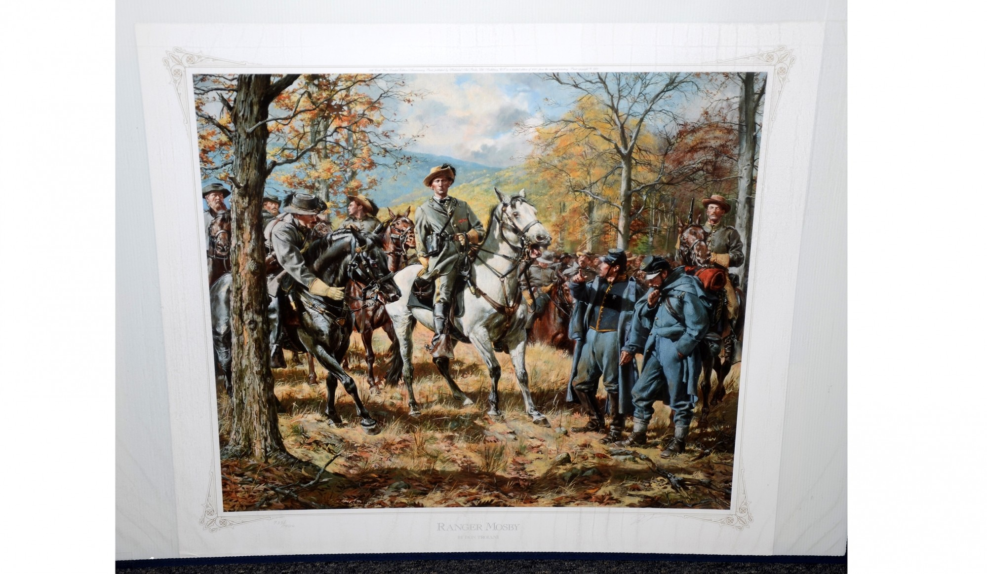 Ranger Mosby Don Troiani Horse Soldier