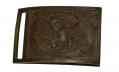 RELIC CONDITION US MODEL 1851 NCO RECTANGULAR BELT PLATE