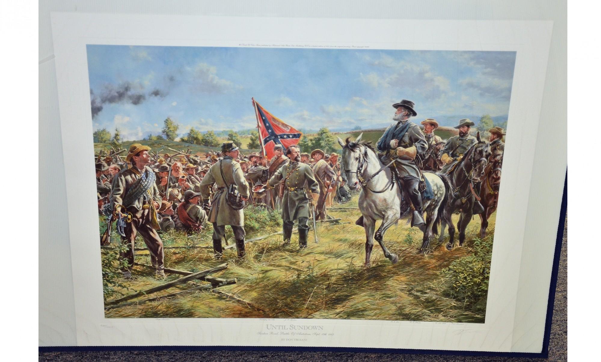 Until Sundown Sunken Road Battle Of Antietam Sept