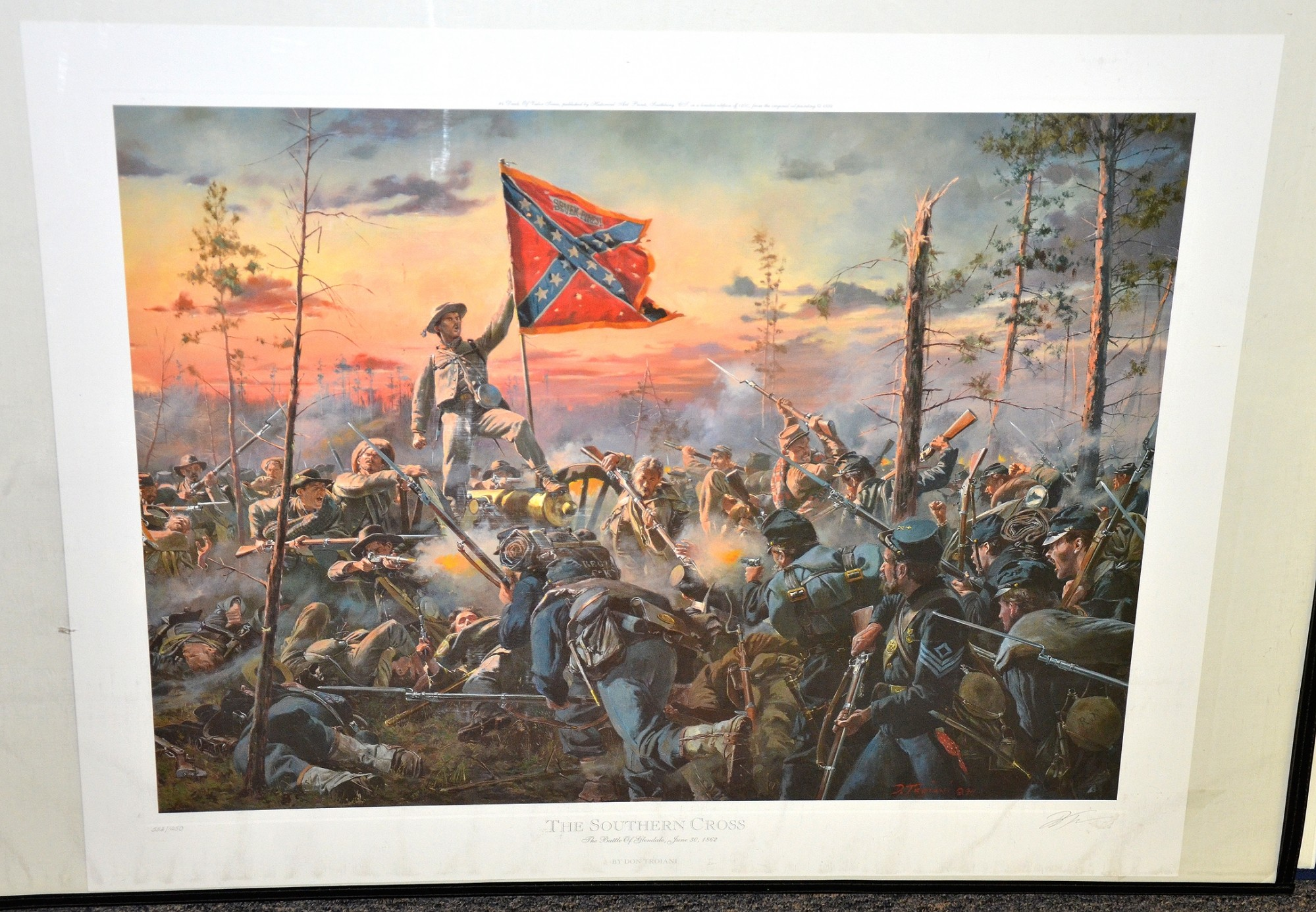 THE SOUTHERN CROSS – THE BATTLE OF GLENDALE, JUNE 30, 1862 - DON TROIANI