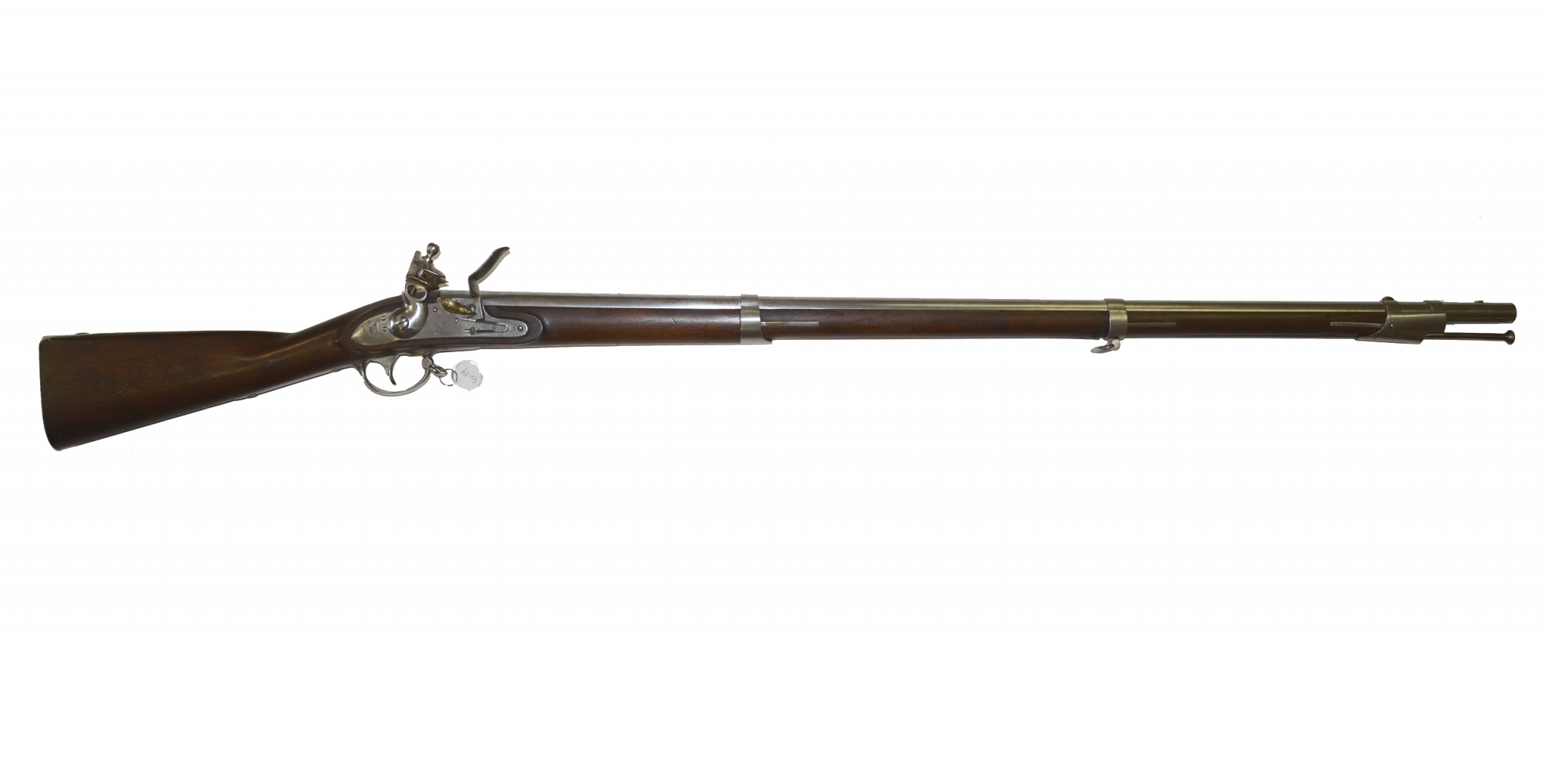 M1816 SPRINGFIELD FLINTLOCK RECONVERSION MUSKET DATED 1838