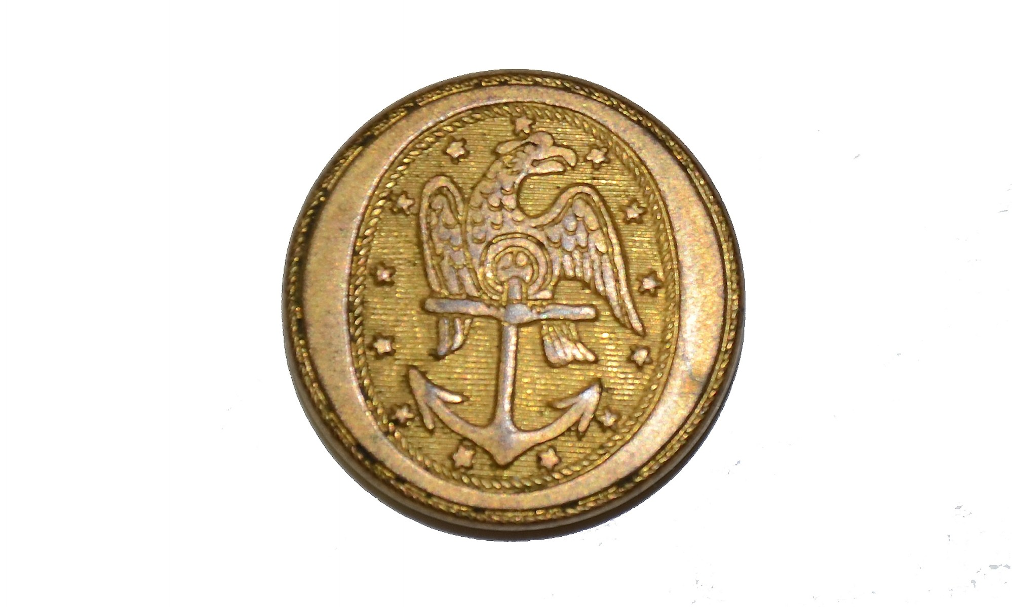 EARLY NAVY BUTTON