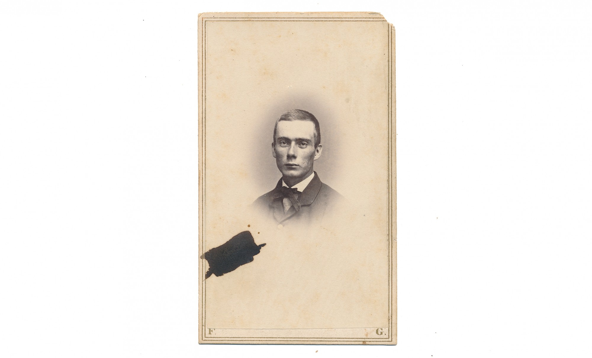 CDV BUST VIEW OF 4TH VERMONT CORPORAL