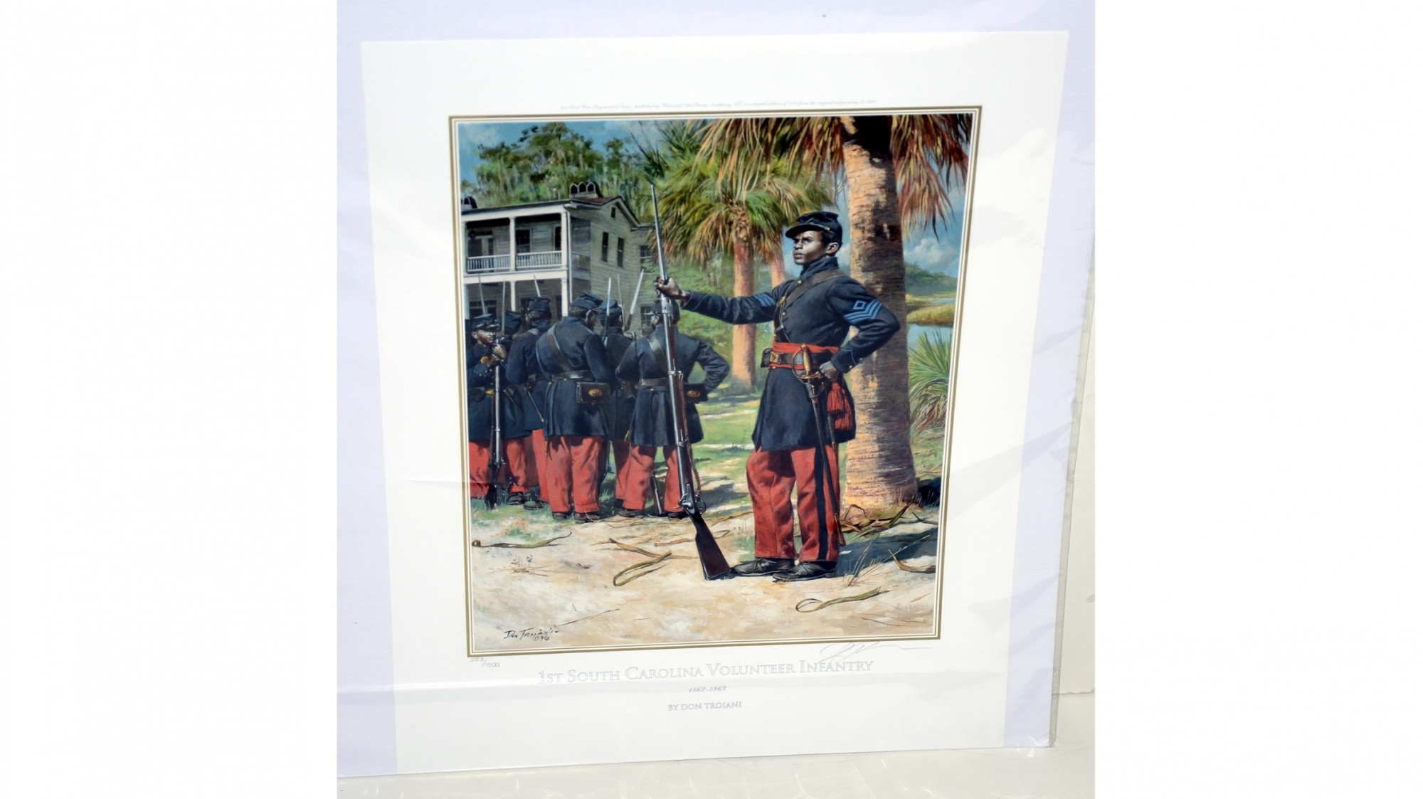1ST SOUTH CAROLINA VOLUNTEER INFANTRY / 1862-1863  – DON TROIANI