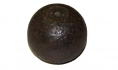 "CS 4.52"" 12 POUND SPHERICAL CASE-SHOT RECOVERED AT RICHMOND, VA"