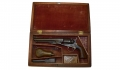 CASED, ENGRAVED MODEL 1862 COLT POLICE REVOLVER
