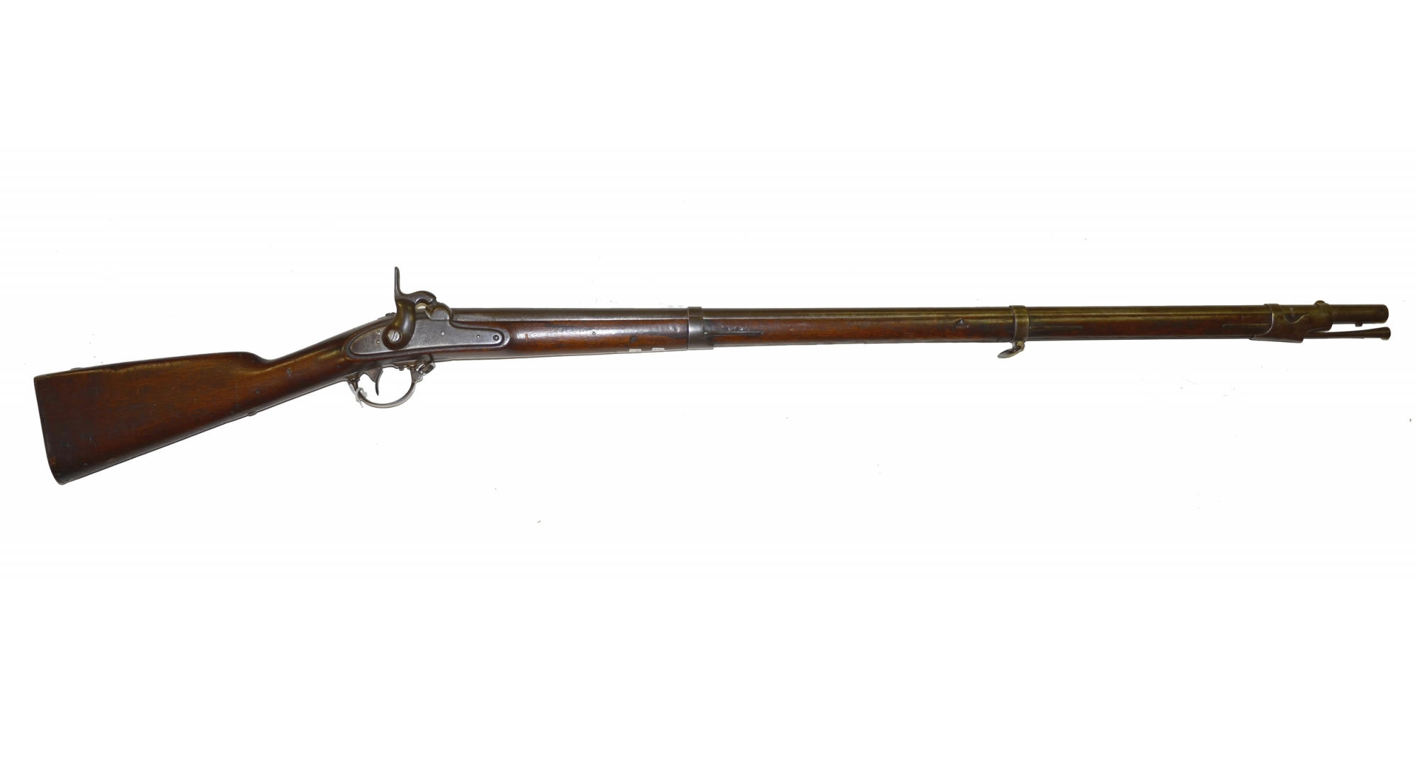 PARTIALLY-IDENTIFIED HARPERS FERRY M1842 SMOOTHBORE MUSKET