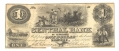 CENTRAL BANK OF TENNESSEE, NASHVILLE, TENNESSEE $1 NOTE