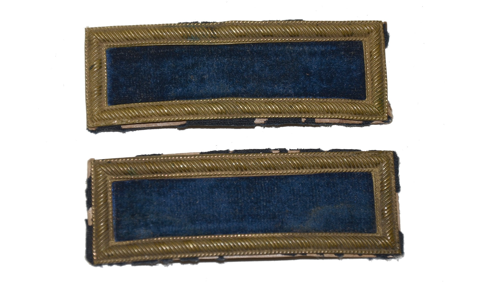 INDIAN WAR 2ND LIEUTENANT OF INFANTRY SHOULDER STRAPS