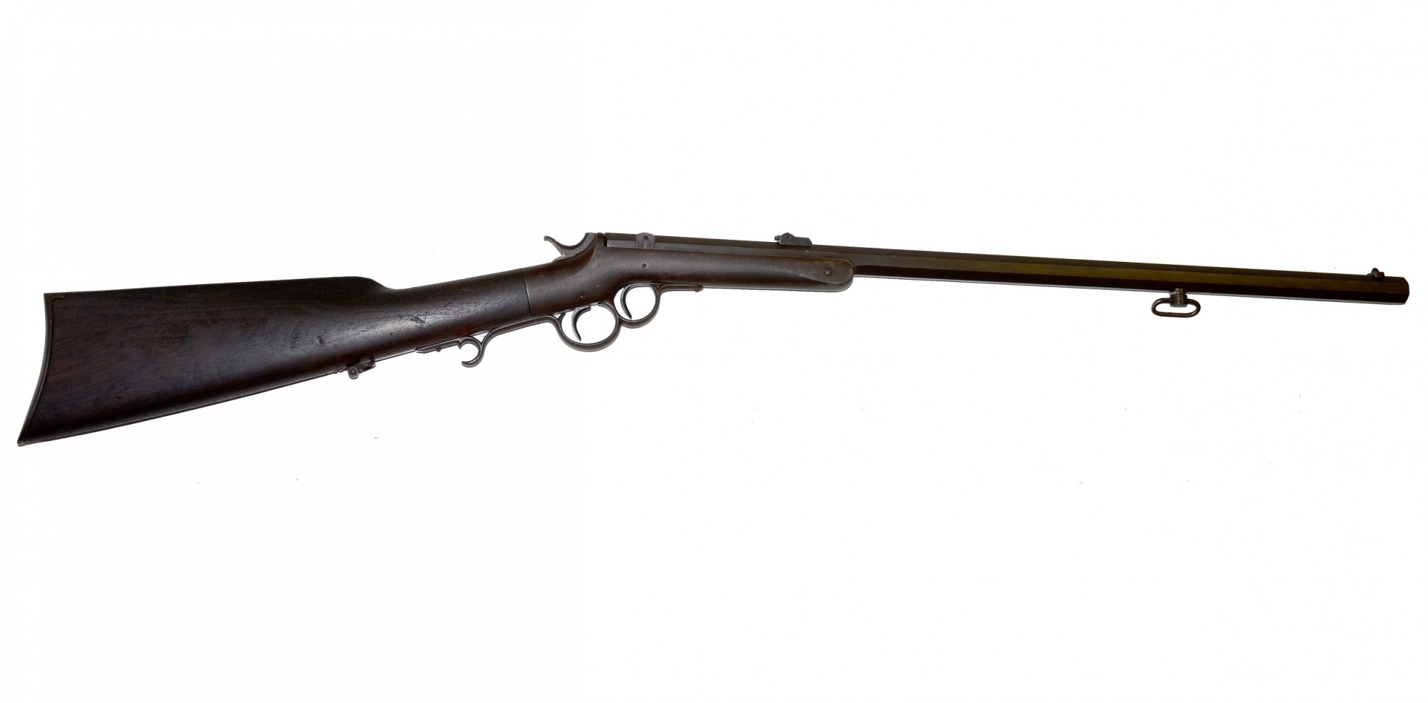 RARE, ORIGINAL 'J. CUTLER FULLER-MARKED' FRANK WESSON RIFLE