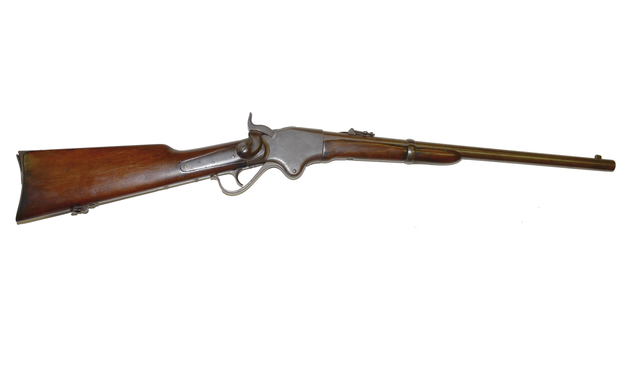 EXCELLENT CIVIL WAR MODEL 1860 SPENCER CARBINE