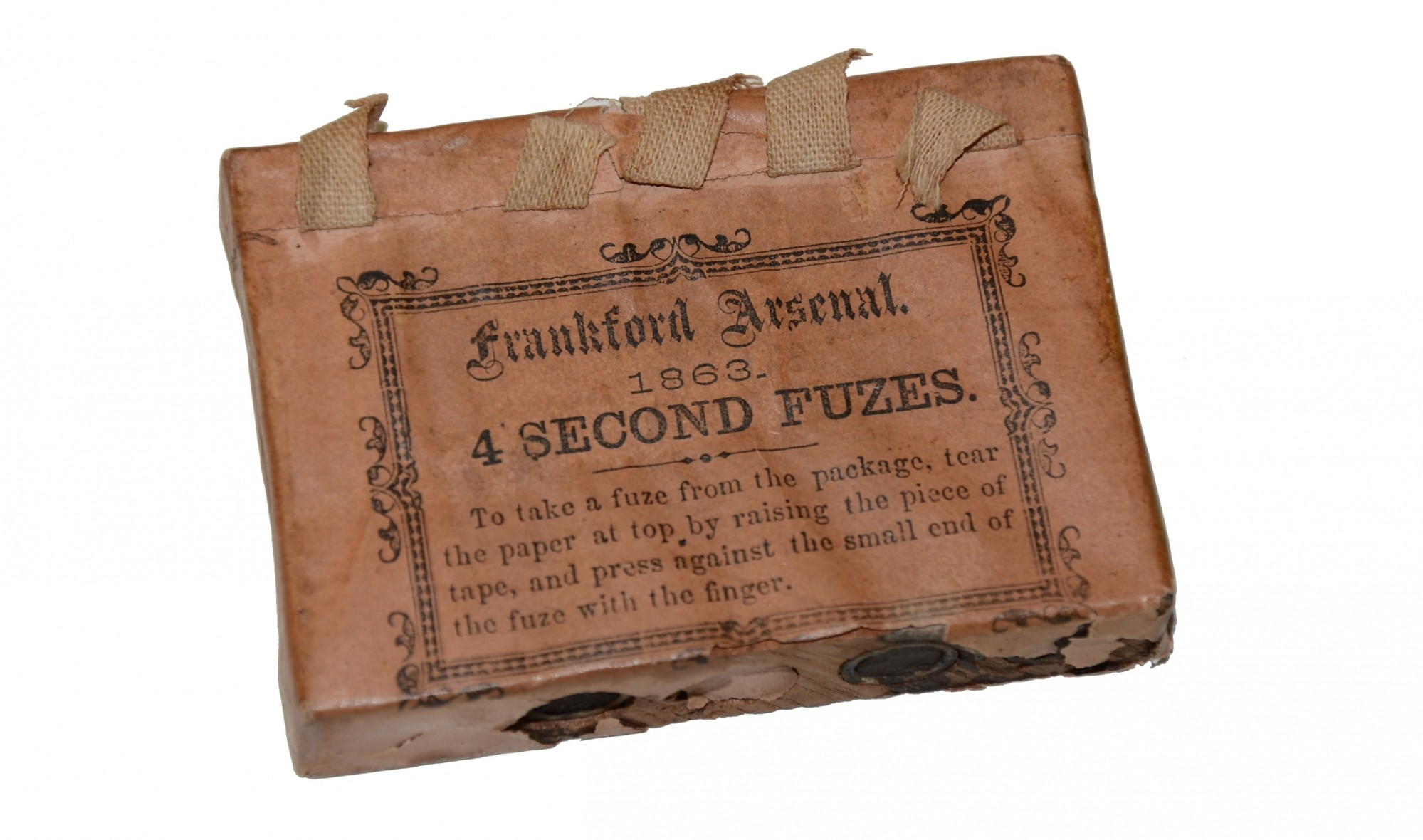 1863 PACK OF FRANKFORD ARSENAL FUSES