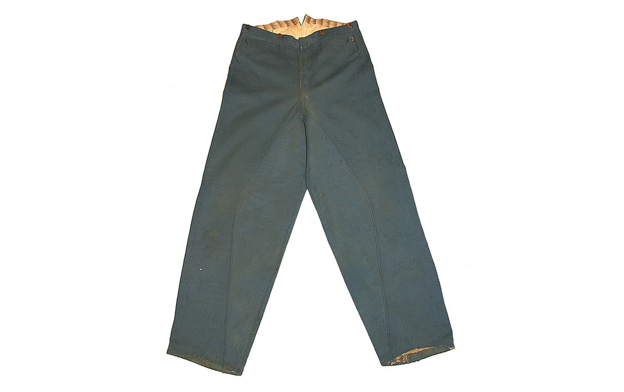 FINE PAIR OF RARE MOUNTED OR SADDLE TROUSERS