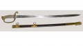 US MODEL 1852 CIVIL WAR NAVAL OFFICER'S SWORD