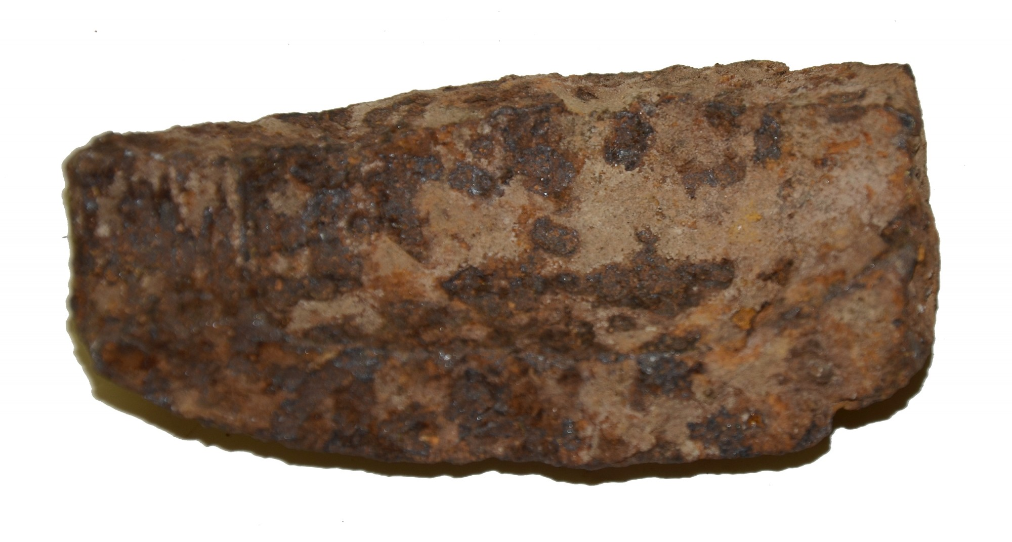 US 3-INCH HOTCHKISS SHELL FRAGMENT FROM CULP'S HILL AREA