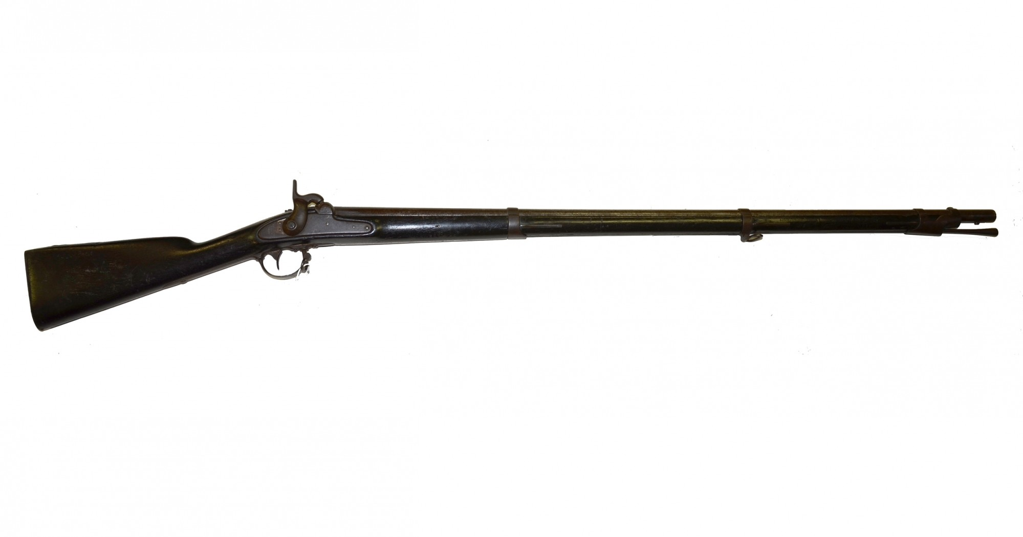 HARPERS FERRY M1842 SMOOTHBORE MUSKET, DATED 1846