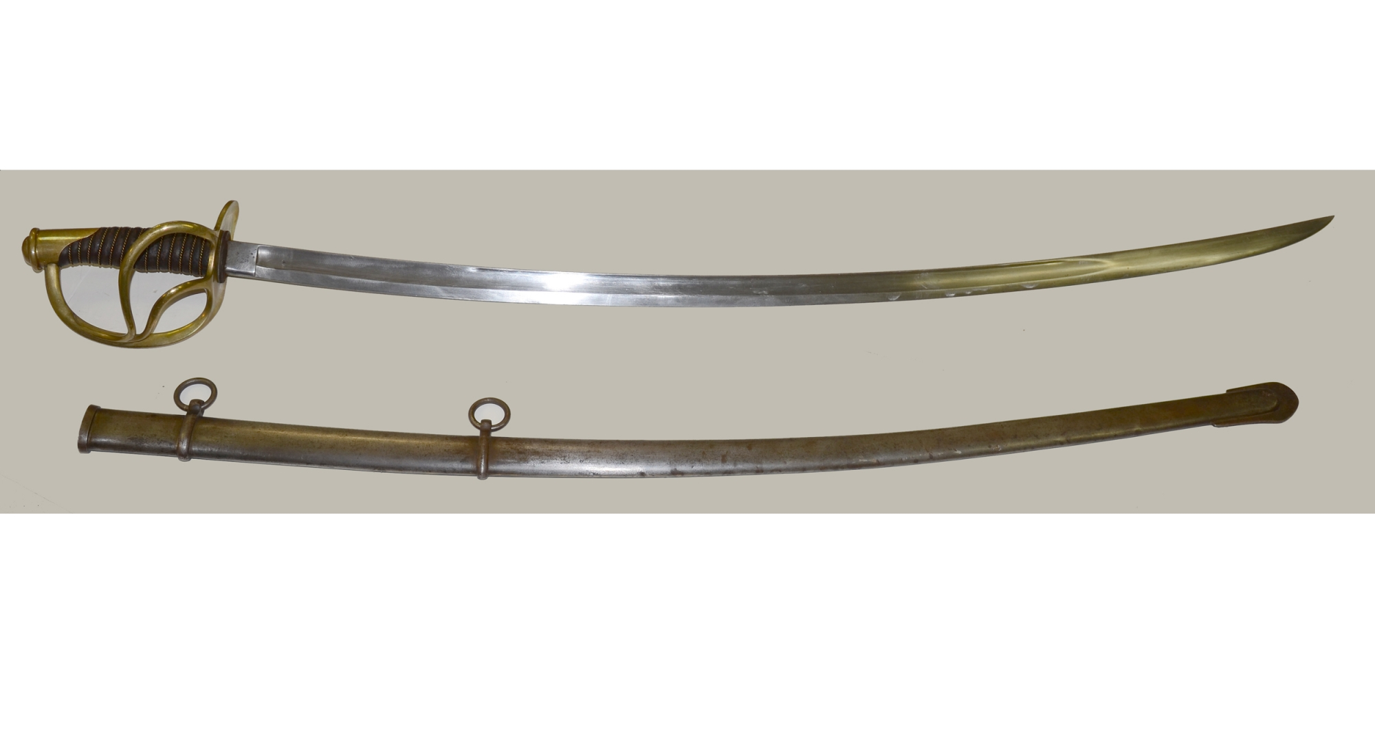 MODEL 1860 CAVALRY SABER BY ROBY DATED 1864