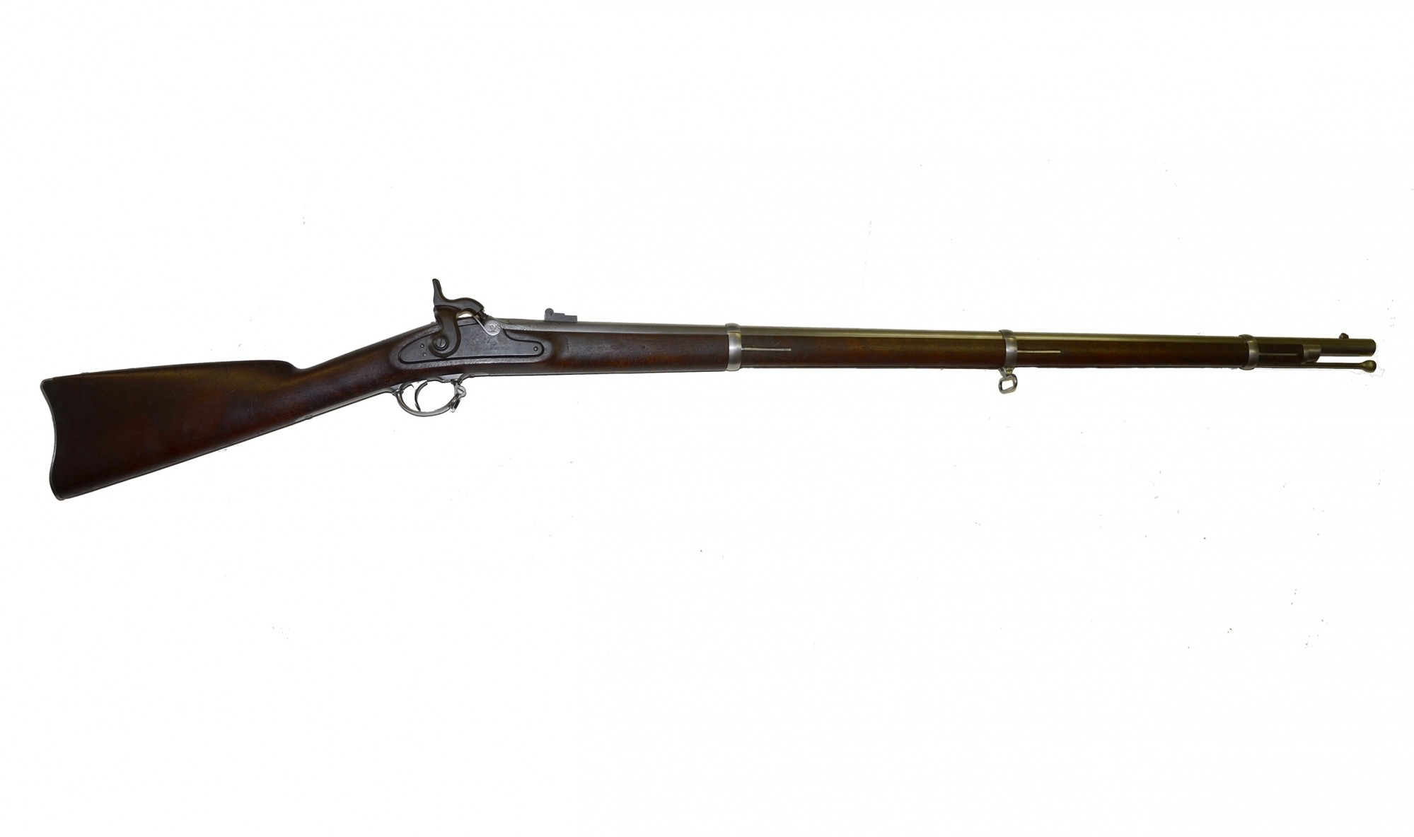 SPRINGFIELD M1863 TYPE II MUSKET DATED 1864