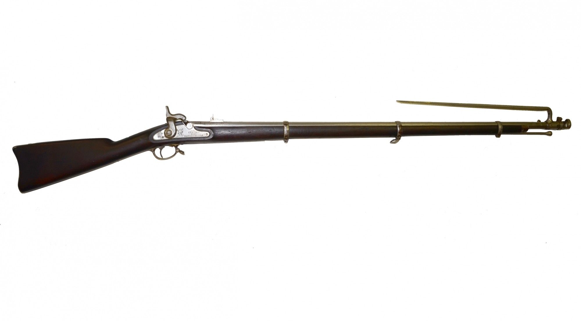 M1863 'SN&WTC' CONTRACT RIFLED MUSKET WITH BAYONET