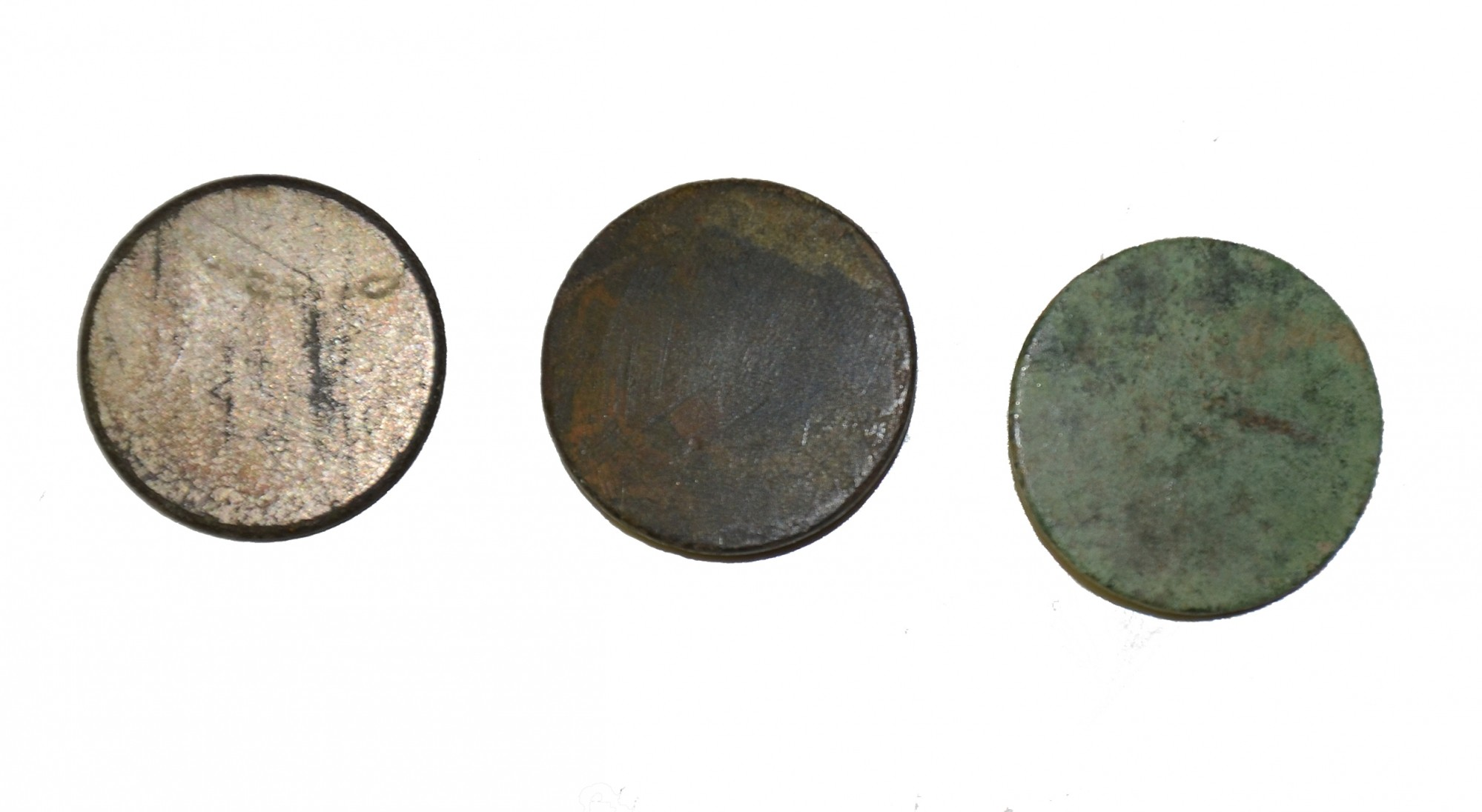 ENGLISH MADE COIN BUTTON RECOVERED NEAR WILLOUGHBY RUN – GETTYSBURG
